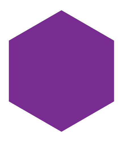 lila hexagon